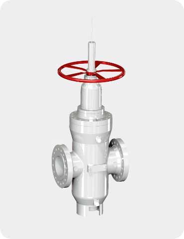 throug conduit double expanding gate valve